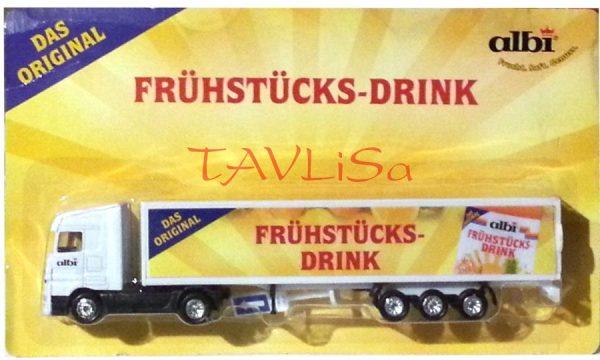 Reklamní Kamion albi Fruhstucks - Drink 19cm